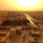 Riyadh from my hotel room